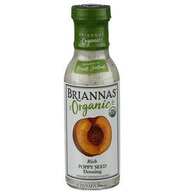 BRIANNAS DRESSING RICH POPPY SEED 10 OZ