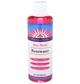 Heritage Store Rose Petals Rosewater 8 oz