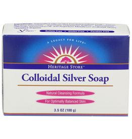 Heritage Store Bar Soap Colloidal Silver 3.5 oz