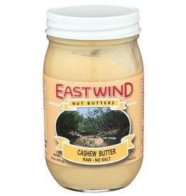 Eastwind Cashew Butter Raw No Salt 16 oz