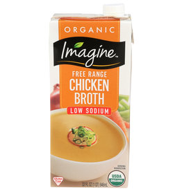 Imagine OG Low Sodium Chicken Broth 32 oz
