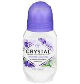 Crystal Roll-on Deodorant Lav & Wh Tea