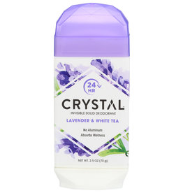 CRYSTAL BODY DEODORANT Crystal Lavender and White Tea Deodorant 2.5 oz
