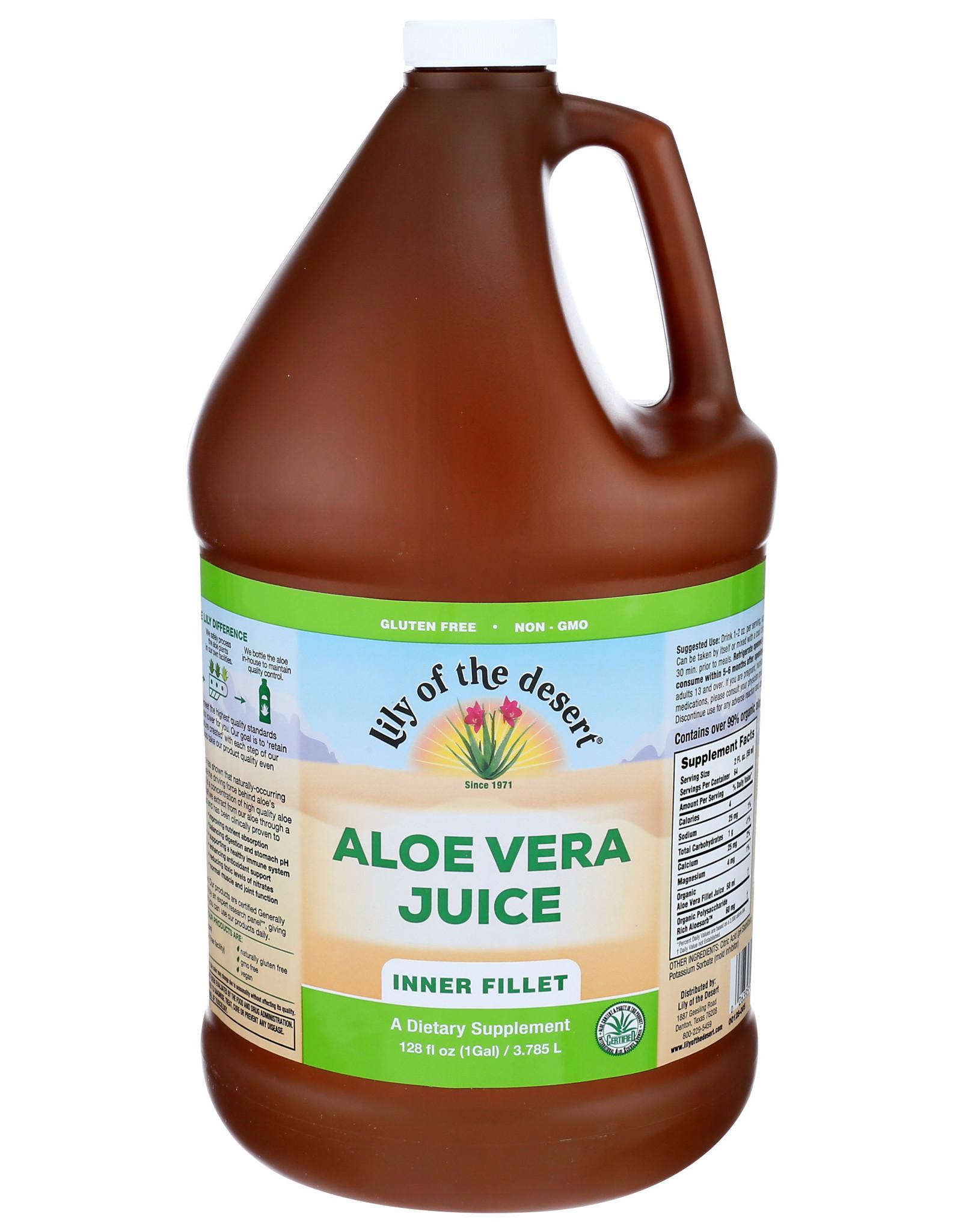 Lily of the Desert Aloe Vera Juice 128 oz