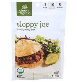 SIMPLY ORGANIC Simply Organic Sloppy Joe Seasoning Mix 1.41 oz.