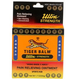 Tiger Balm Pain Relieving Ointment Sports Rub 1.7 oz