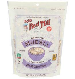 Bobs Gluten Free Muesli European Style Cereal 16 oz