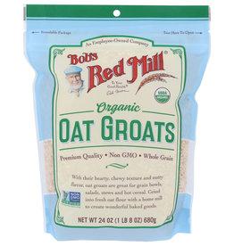 BOBS RED MILL Bob's Og Oat Groats 24 oz