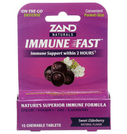 Zand Naturals Immune Fast 15 Chewable Tablets