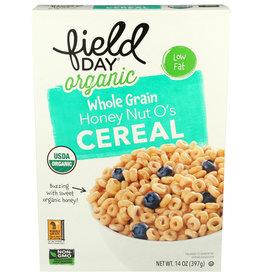Field Day OG Whole Grain Honey Nut Os Cereal 14 oz