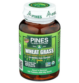 Pines Wheat Grass 100 Tablets