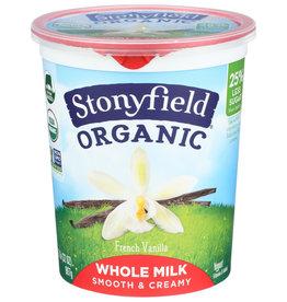 Stonyfield Yogurt Gf Wm Vanilla Org - 32 OZ