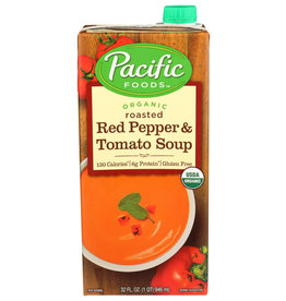 PACIFIC FOODS Pacific Foods OG Roasted Red Pepper Tomato Soup 32 oz