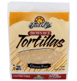 Whole Grain Brown Rice Tortillas 12.00 oz