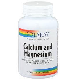 Solaray Calcium Magnesium 2:1 ratio 90 Veg Capsules