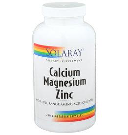 Solaray Calcium Magnesium Zinc 250 Veg Capsules