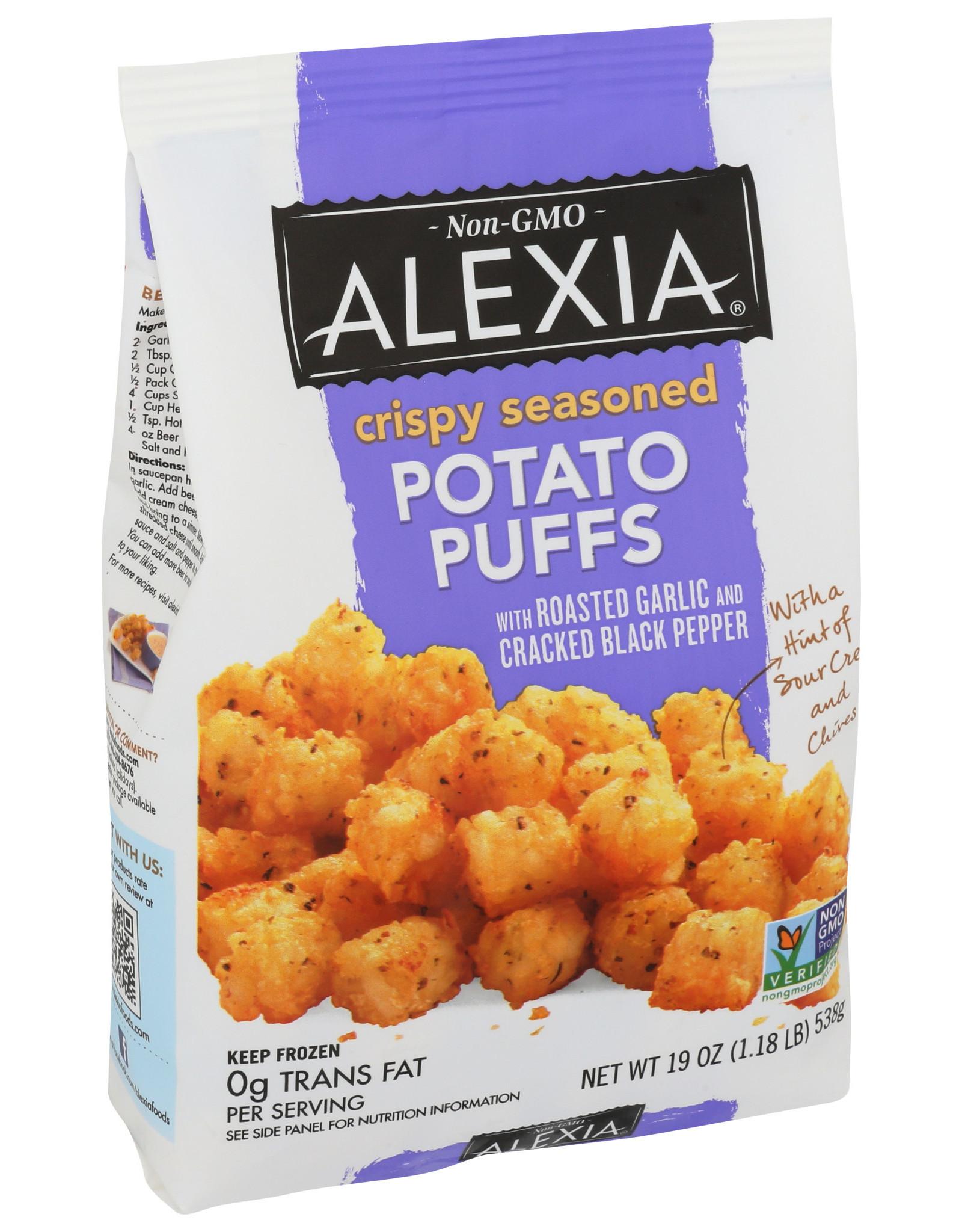 Alexia Crispy Seasoned Potato Puffs 19 oz
