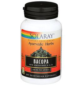 Solaray Bacopa 60 Vegetarian Capsules
