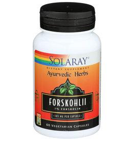 Solaray Forskohli 385mg 60 Vegetarian Capsules