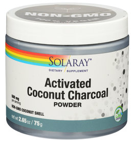 Solaray Activated Coconut Charcoal Powder 5.3 oz