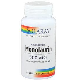 Solaray Monolaurin 500mg 60 Vegetarian Capsules