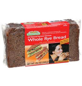 Wh Rye Bread Mestemacher 17.6 oz