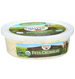 Organic Valley Feta Crumbles