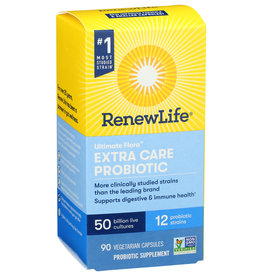 Renew Life probiotic extra care 30 or 50 billion (90 count)