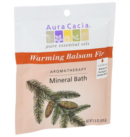 Aura Cacia BATH MNRL BALSAM FIR WARM 2.5 OZ