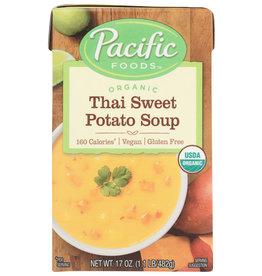 PACIFIC FOODS SOUP RTE THAI SWEET PTO 17 OZ
