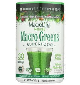 MACROLIFE NATURALS GREEN PWDR 10 OZ