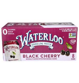 WATERLOO® Waterloo Black Cherry Sparkling Water 8/12oz