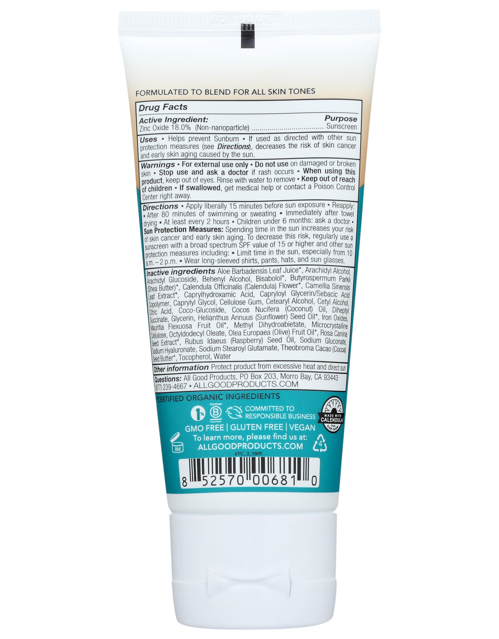 All Good Tinted SPF Lotion