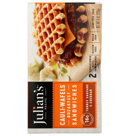 JULIAN'S RECIPE® Julians Cauli Wafels Breakfast Sandwiches