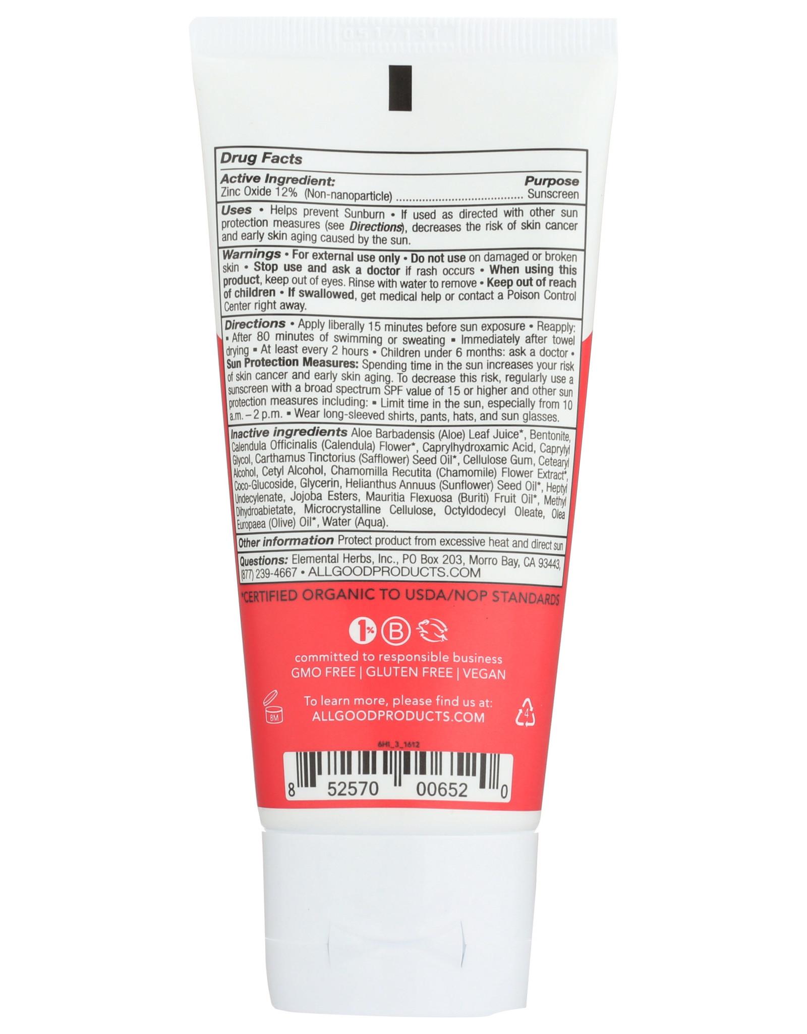 All Good Kids Mineral Sunscreen SPF 30