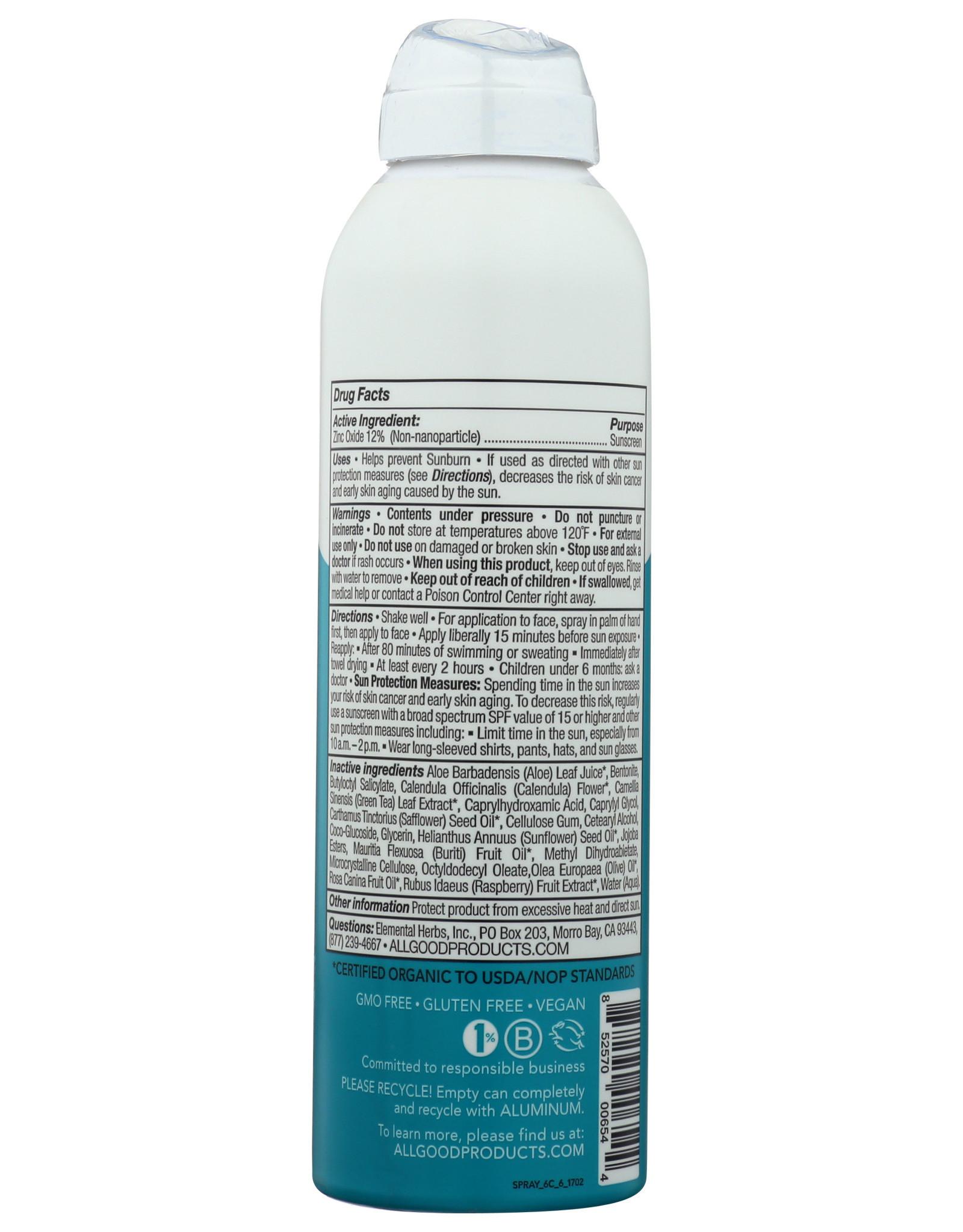 All Good Sport Sunscreen Spray