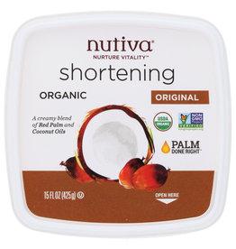 NUTIVA NUTIVA SHORTENING RED PALM ORG 15 OZ