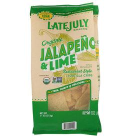 LATE JULY SNACKS Late July TORT CHIP-Jalapeno 11 OZ