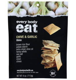 Every Body Eat Thins Chive And Garlic