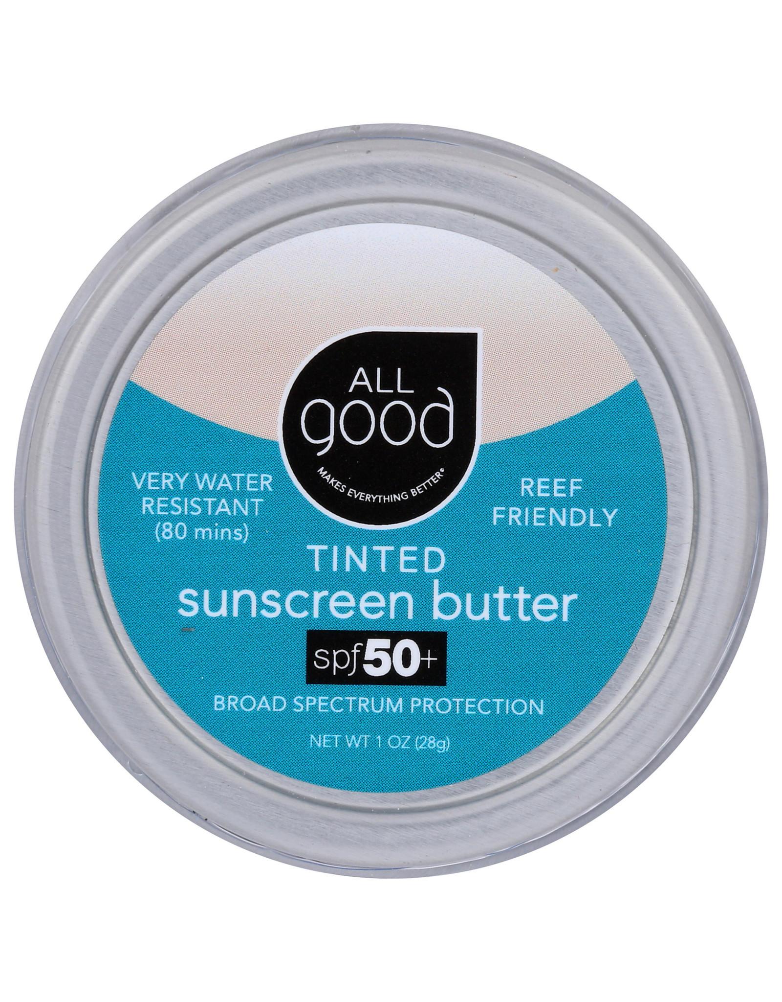 All Good Tinted Sunscreen Butter
