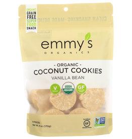 Emmy's Org Coconut Cookies Vanilla 6oz