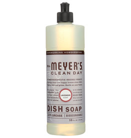 MRS MEYERS CLEAN DAY SOAP DISH LIQ LAVENDER 16 OZ