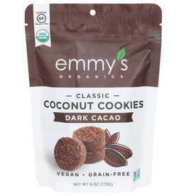 Emmy's Org Coconut Cookies Dark Cacao 6oz