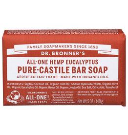 DR BRONNER SOAP BAR EUCALYPTUS 5 OZ