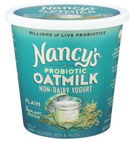 Nancy's Probiotic Oat Milk Yogurt Plain