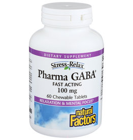Stress-Relax Pharma GABA Chewable 60/TAB