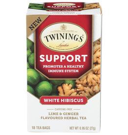 TWINING TEA TEA SUPPORT LIME GNGR 18 BG