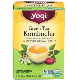 YOGI TEAS TEA GRN KOMBUCHA ORG3 16 BG
