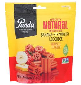 Panda Strawberry Banana Licorice