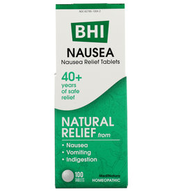 BHI Nausea 100 Tablets